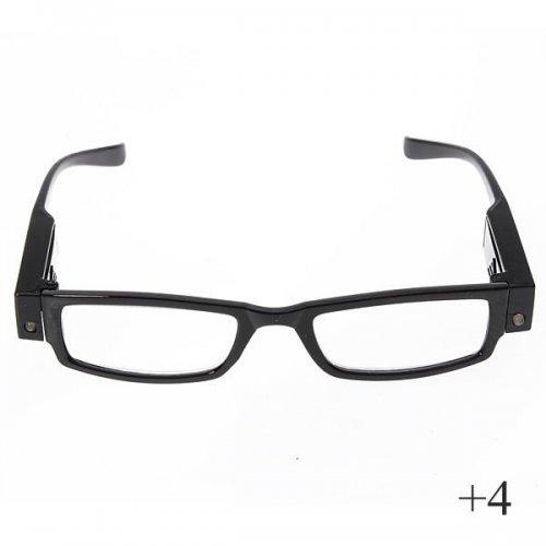 Очила за поставяне на мигли + 4