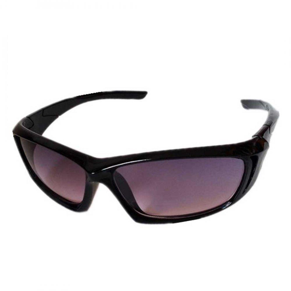 Обтекаеми детски черни слънчеви очила