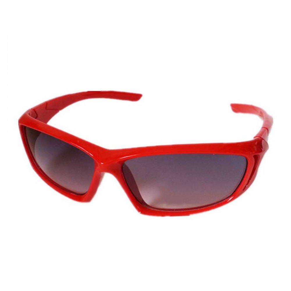 Обтекаеми детски слънчеви червени очила