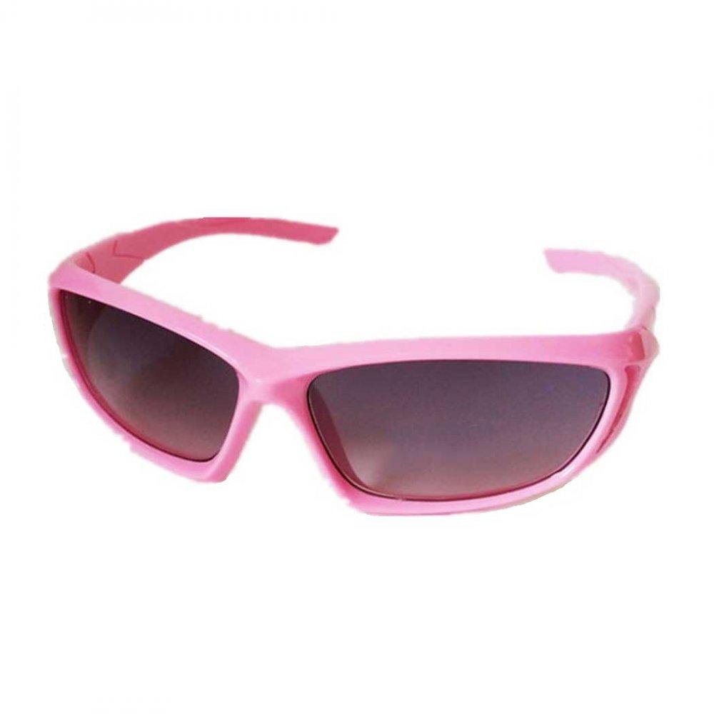 Обтекаеми детски слънчеви розови очила