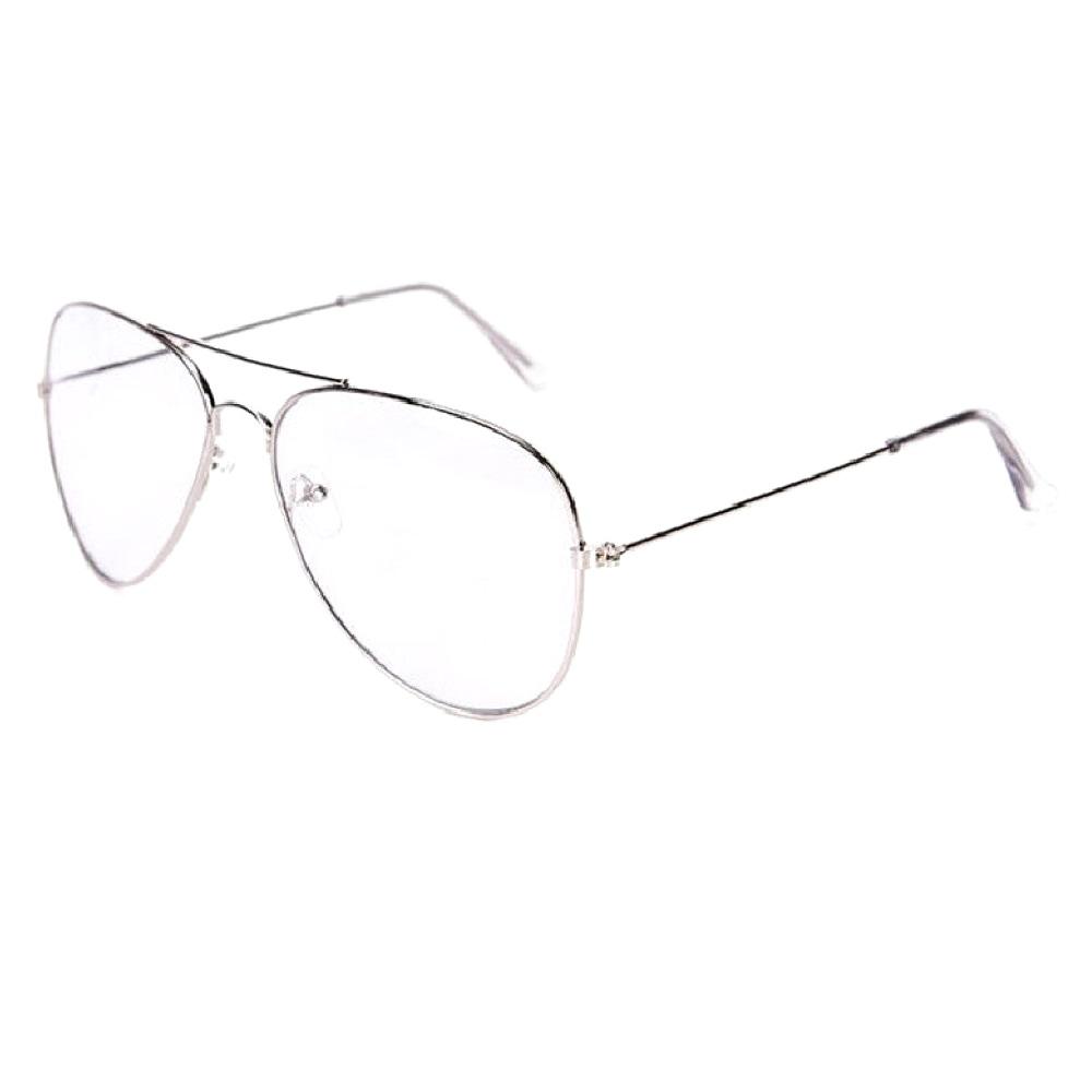 Очила бъбрек с прозрачни стъкла