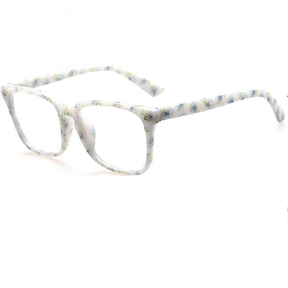 Очила без диоптър с рамки на цветя