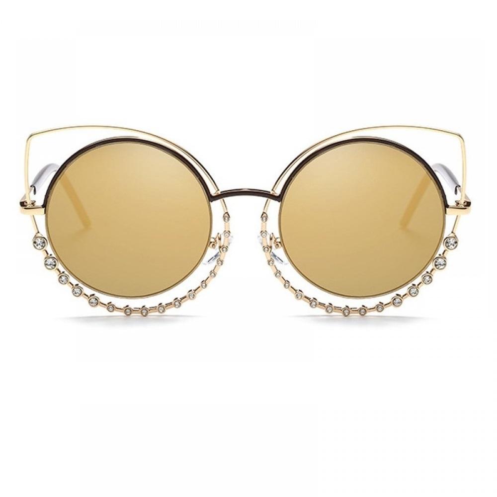 Очила котешки очи с кристали