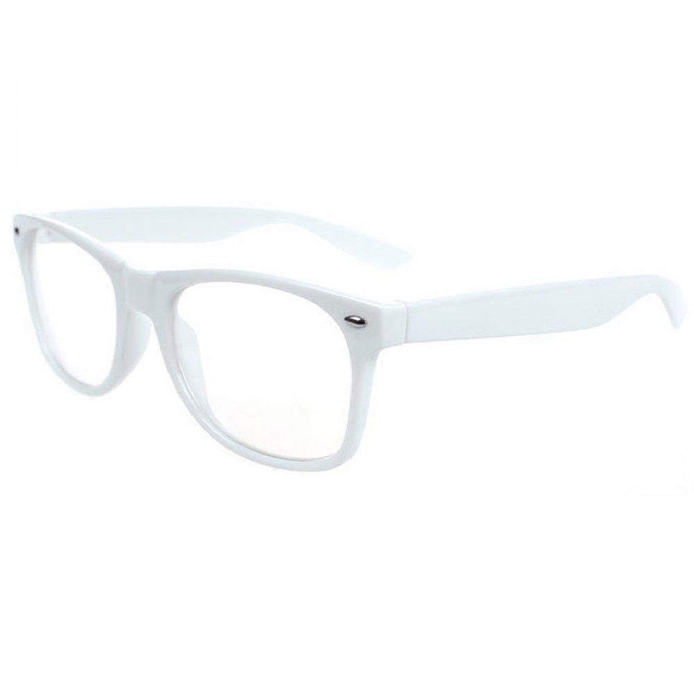 Очила с бели рамки