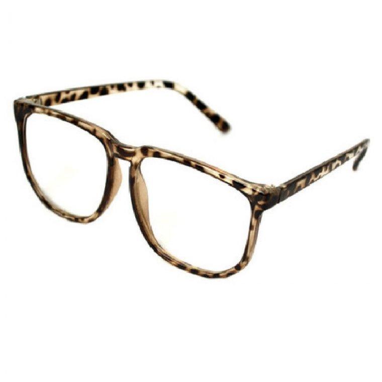 Очила с големи стъкла не чуплива рамка