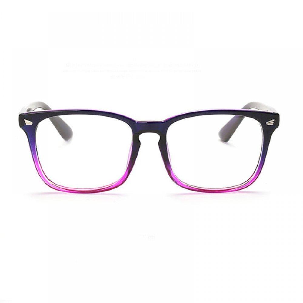 Очила с прозрачни стъкла преливащи рамки