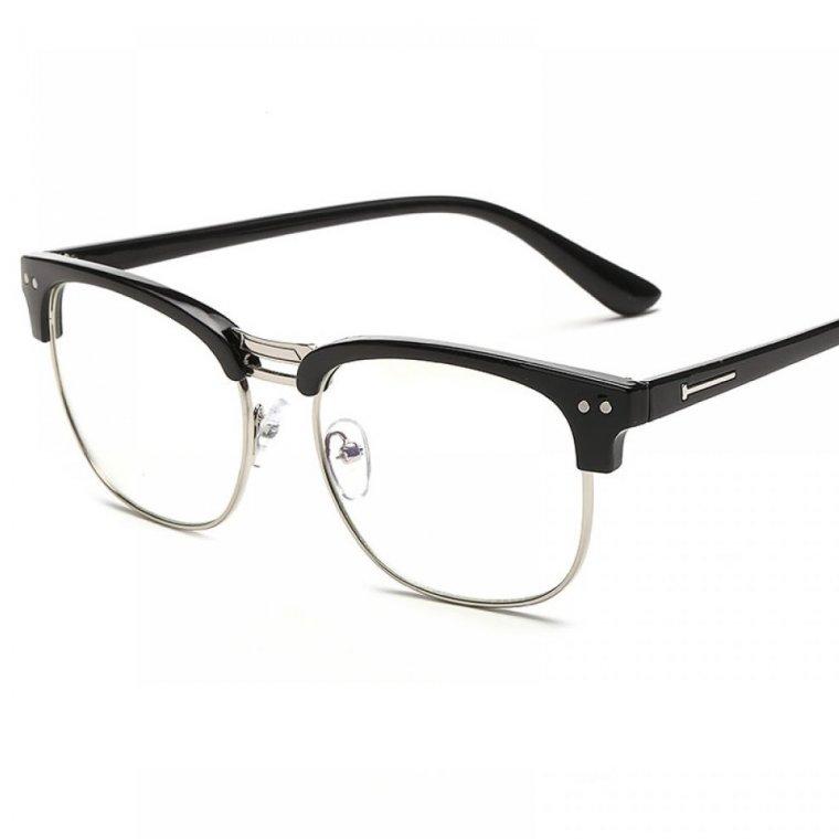 Очила вежди, очила с горни рамки