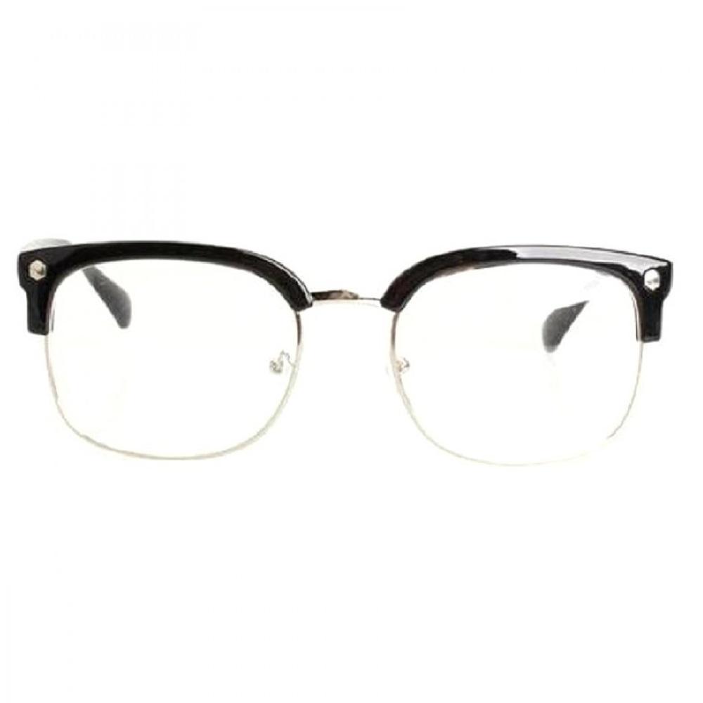 Очила вежди с прозрачни стъкла