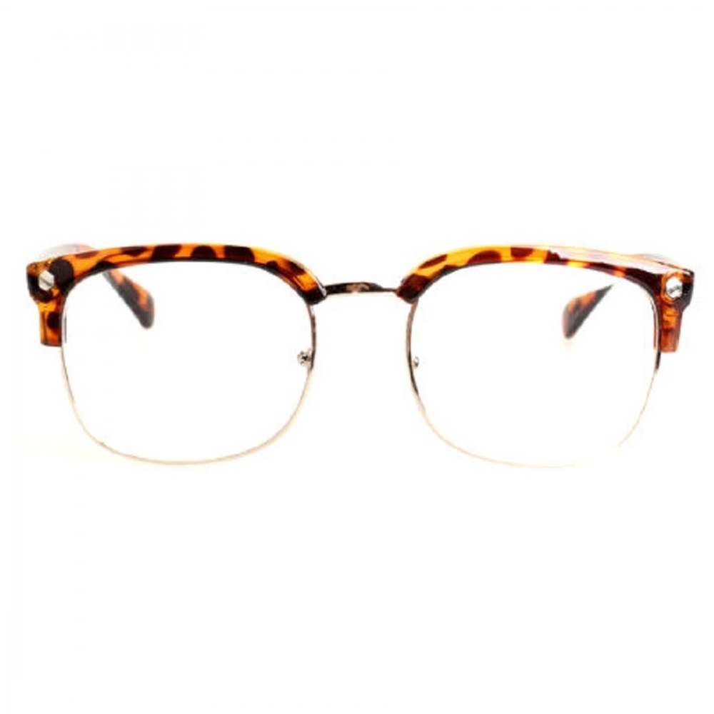 Очила вежди с ретро рамки