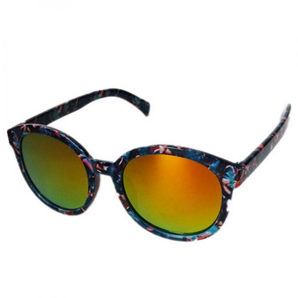 Огледални детски очила червени стъкла