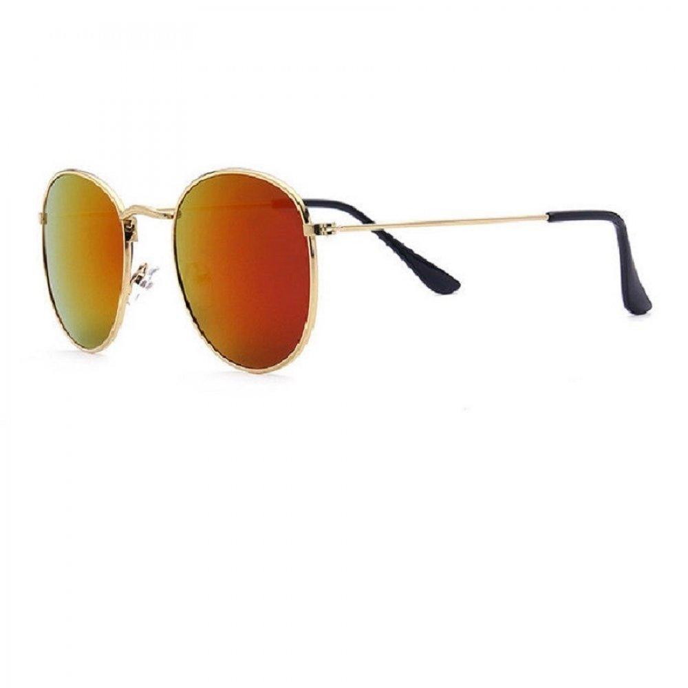 Огледални очила в червено лилаво преливащи
