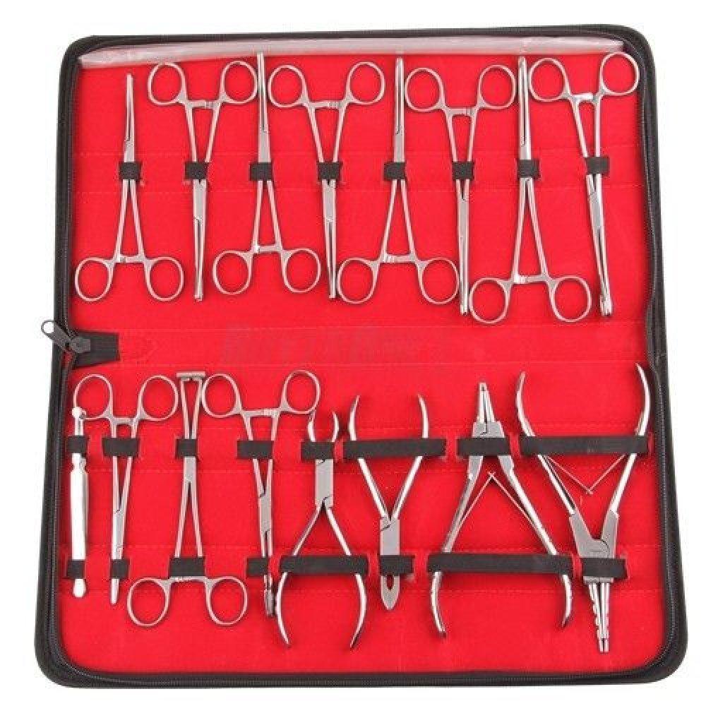 Игли за продупчване на обеци, инструменти за поставяне