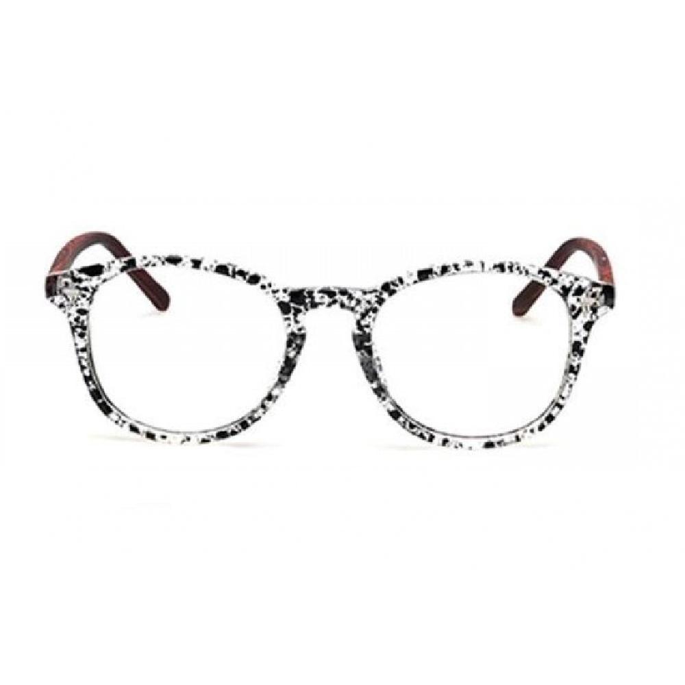 Прозрачни очила пръскани рамки
