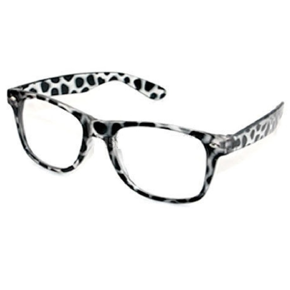 Прозрачни очила рамки на петна
