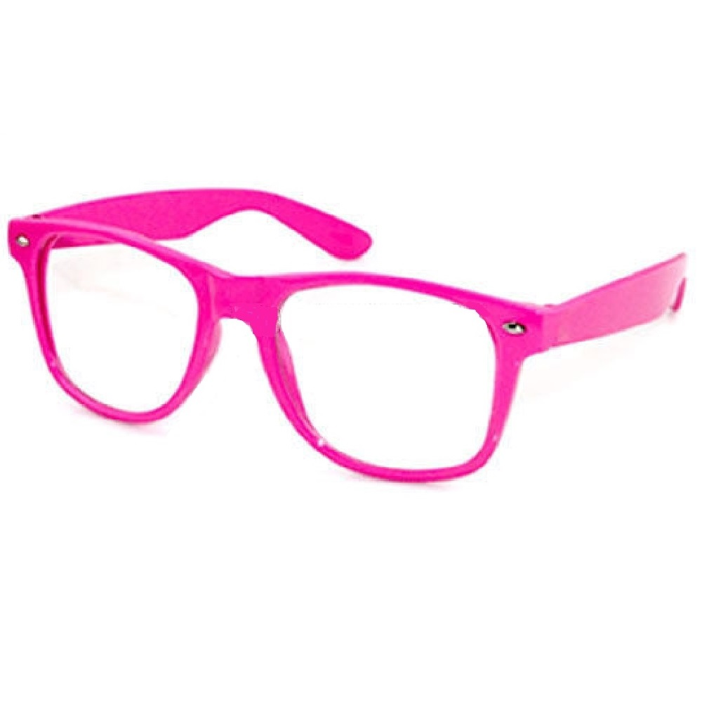 Прозрачни очила розов свят