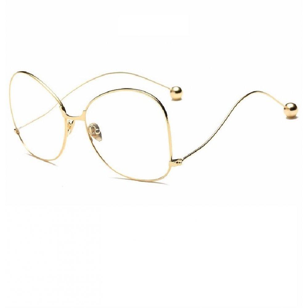 Прозрачни очила тип пеперуда
