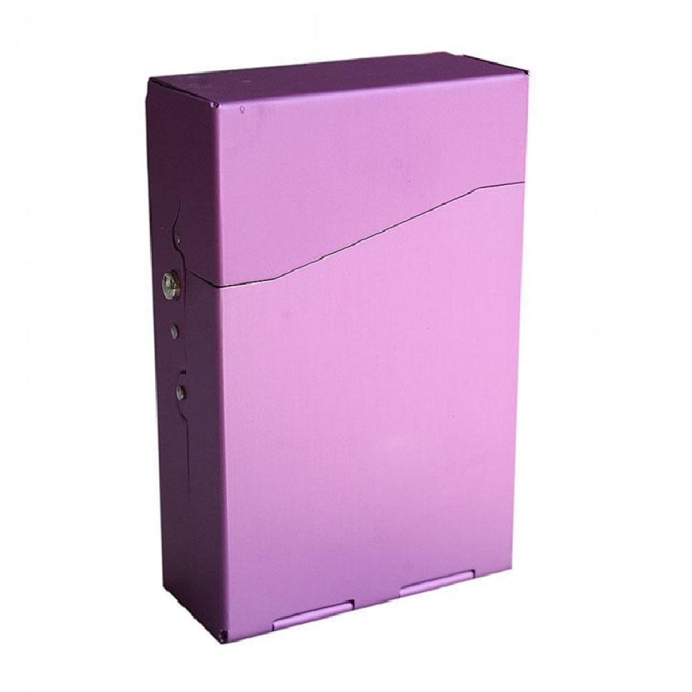 Пурпурно лилави табакери за цигари