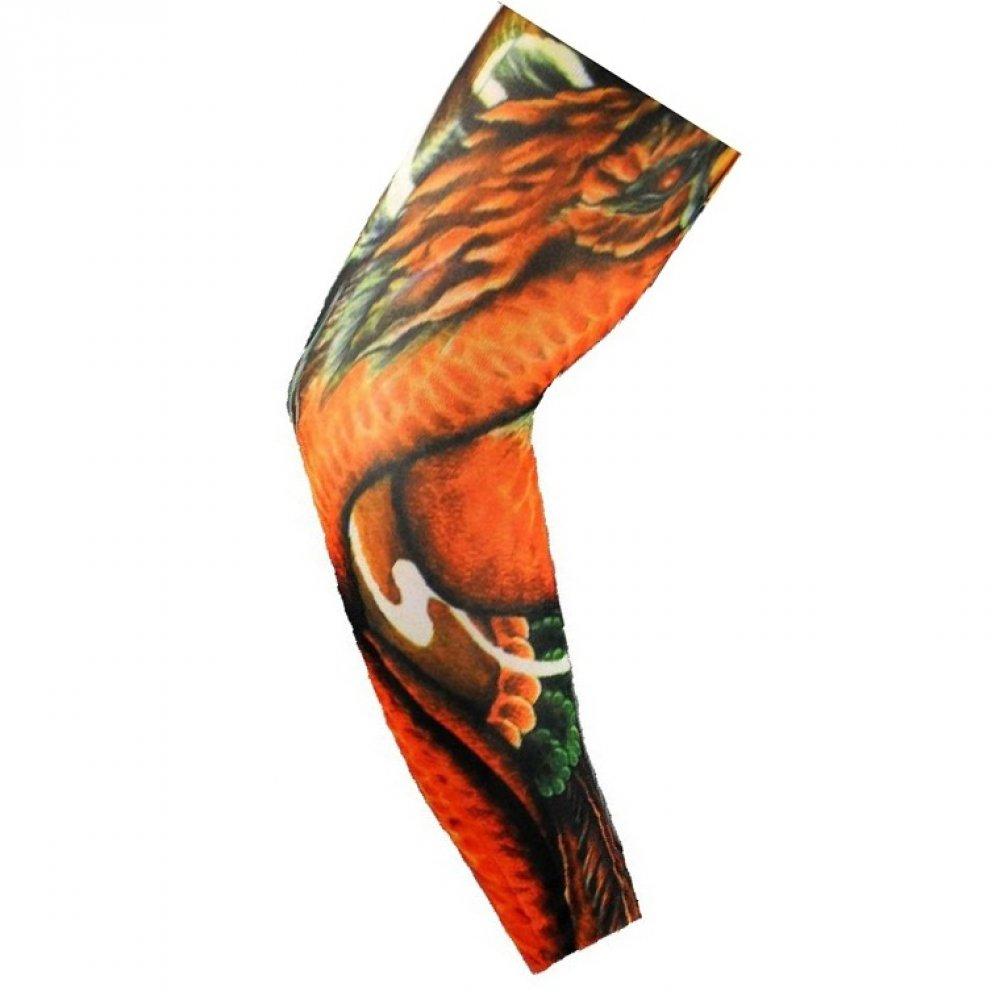 Ръкав с татуировка на дракон