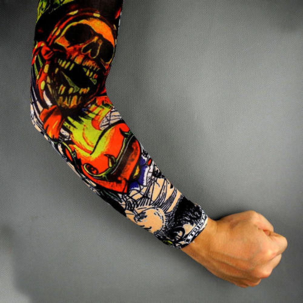 Ръкав татуировка с череп