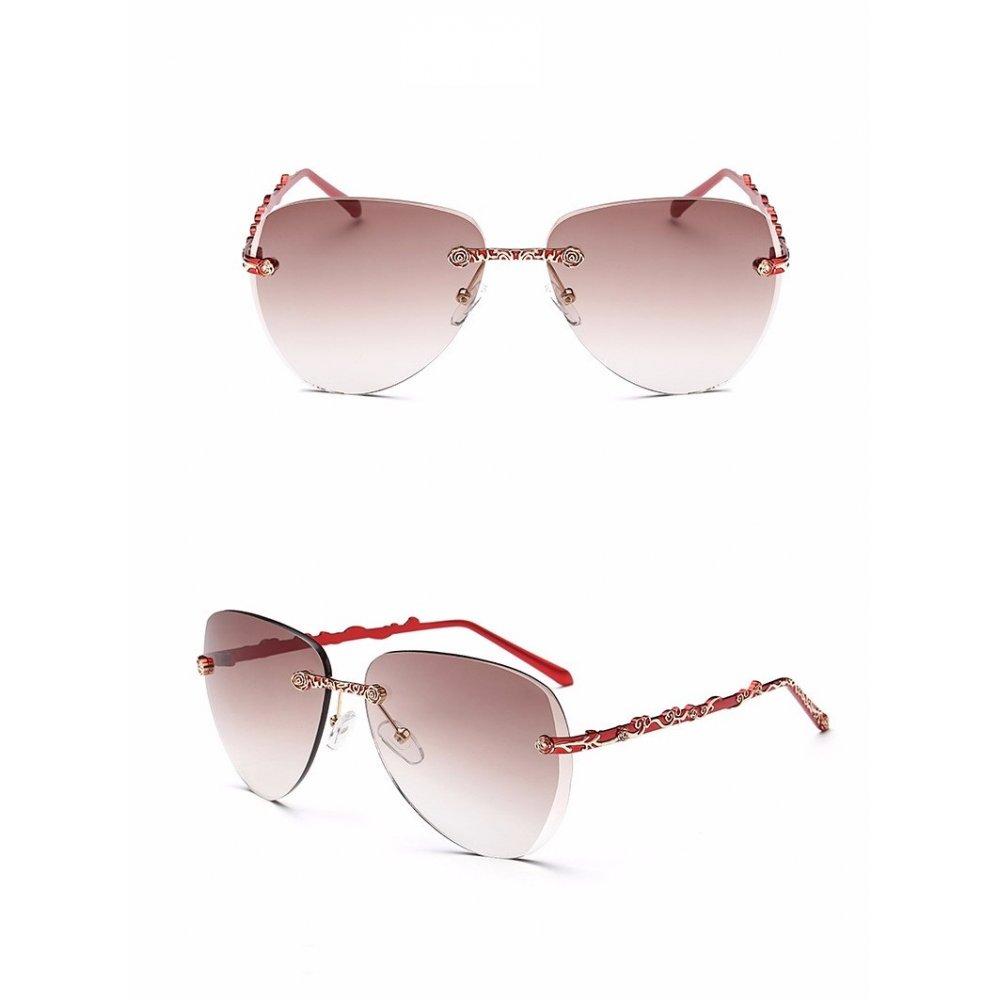 RG - очила с червени рамки