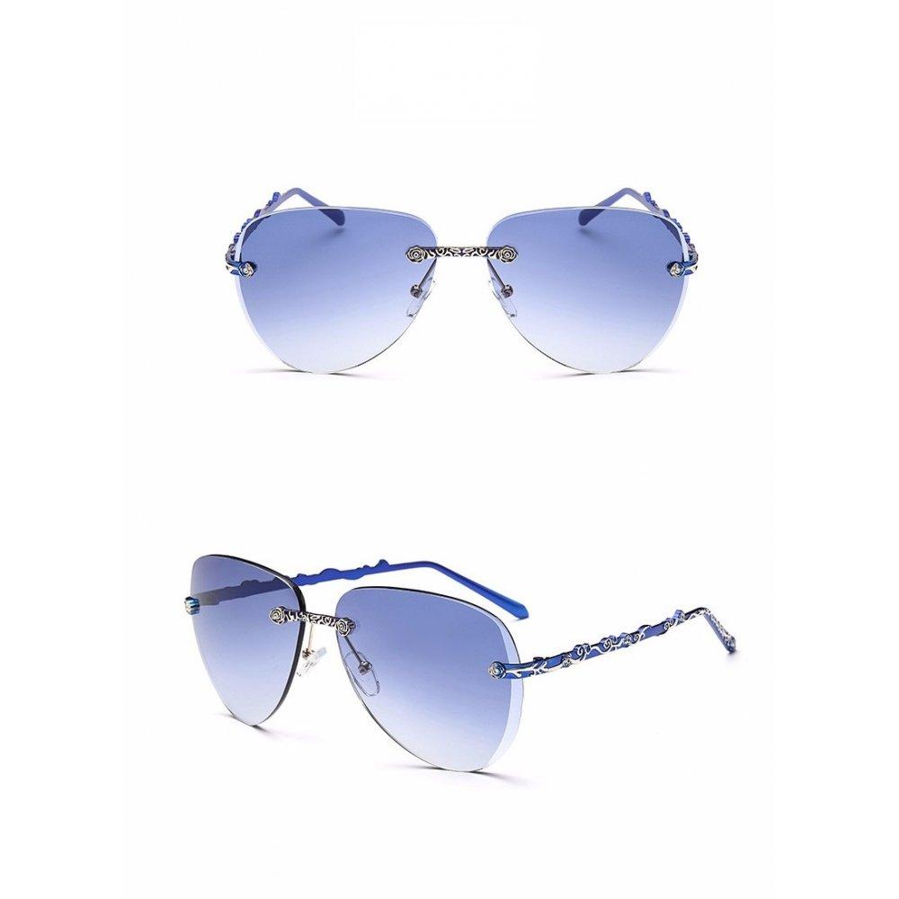 RG - очила със сини рамки
