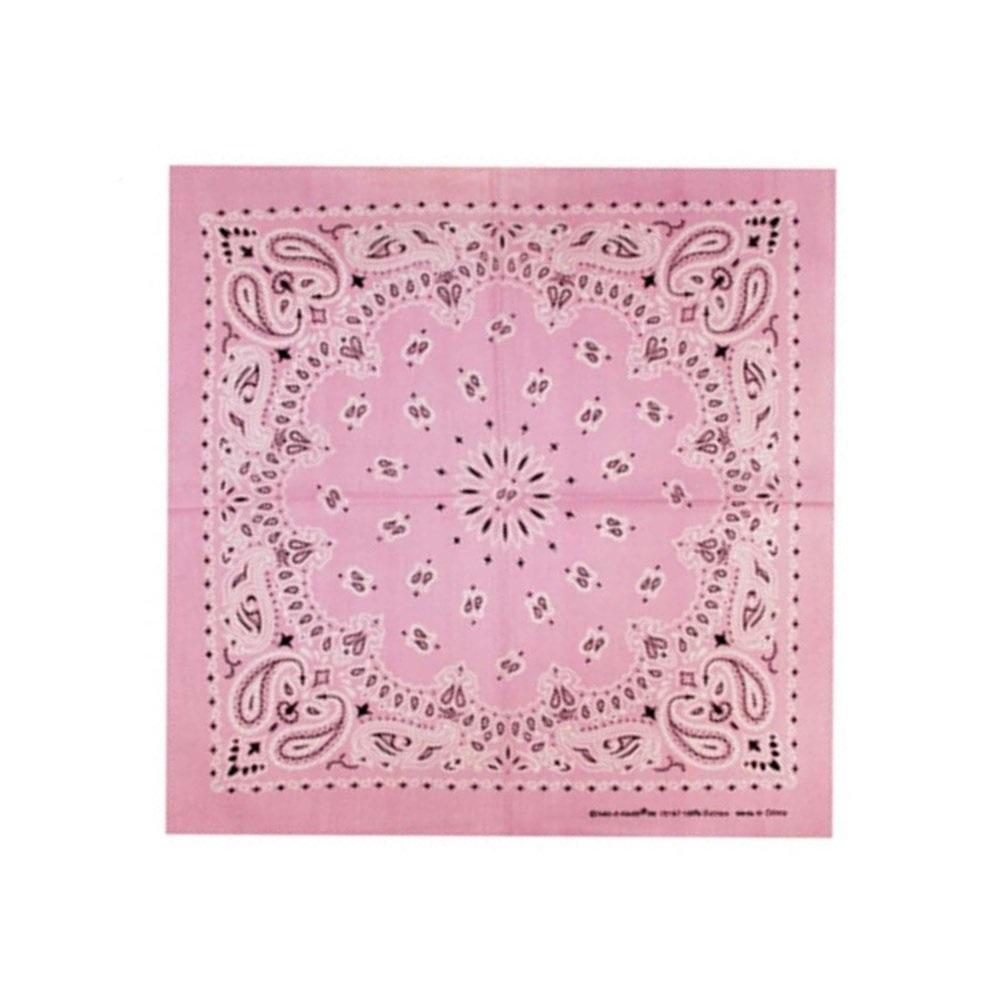 Розова кърпа с орнаменти