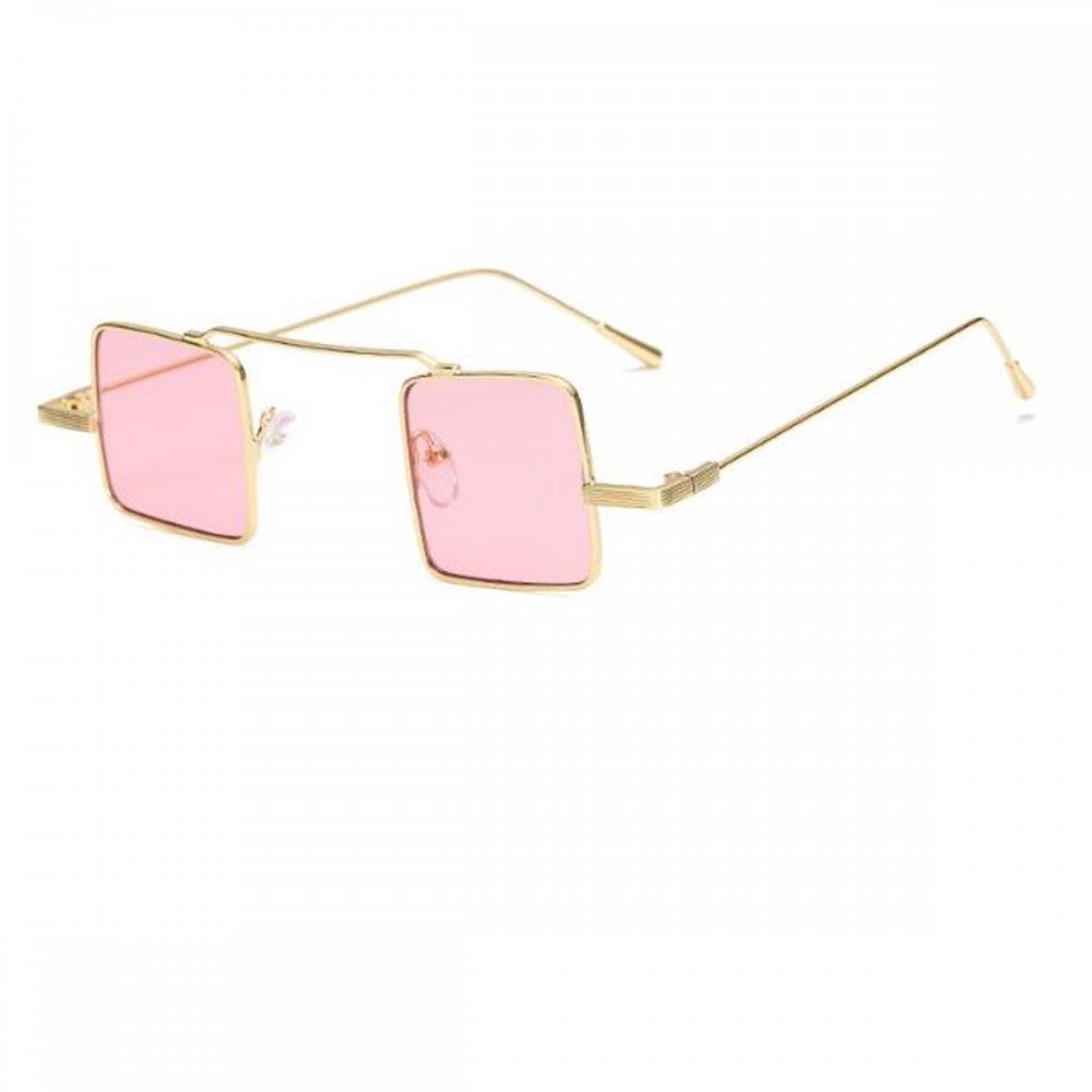 Розови квадратни очила