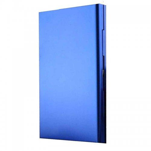 Сини тънки плоски табакери