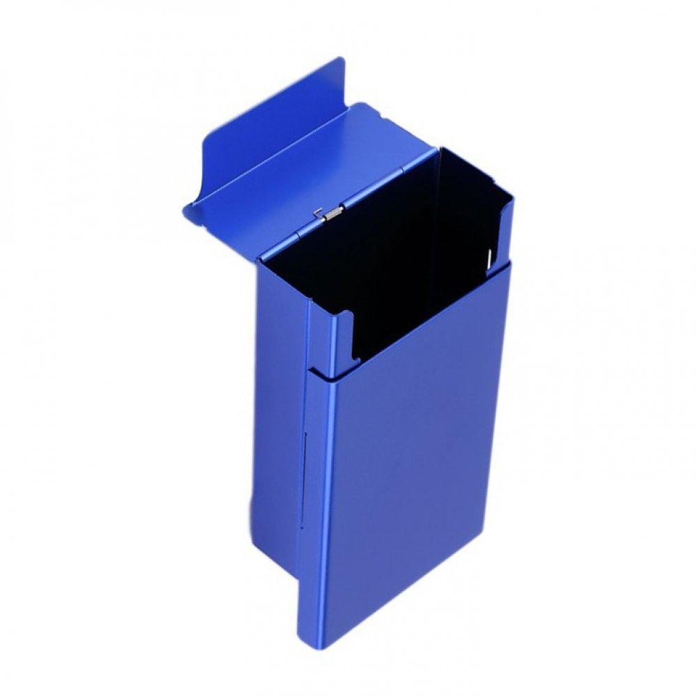 Синя табакера за цигари за кутия или пакет