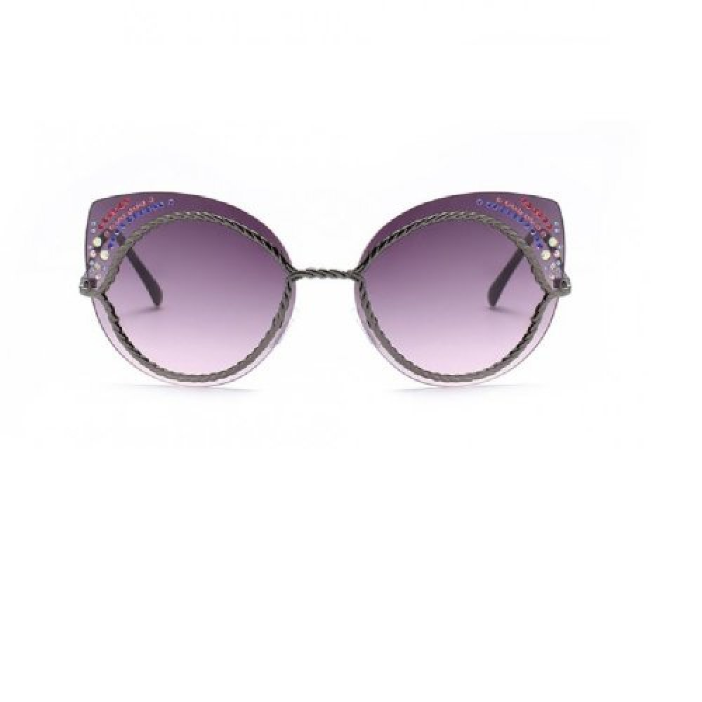 Слънчеви очила котешки стъкла с кристалчета