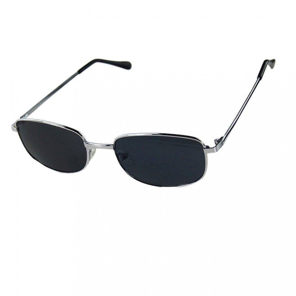 Слънчеви очила рамки от бял метал