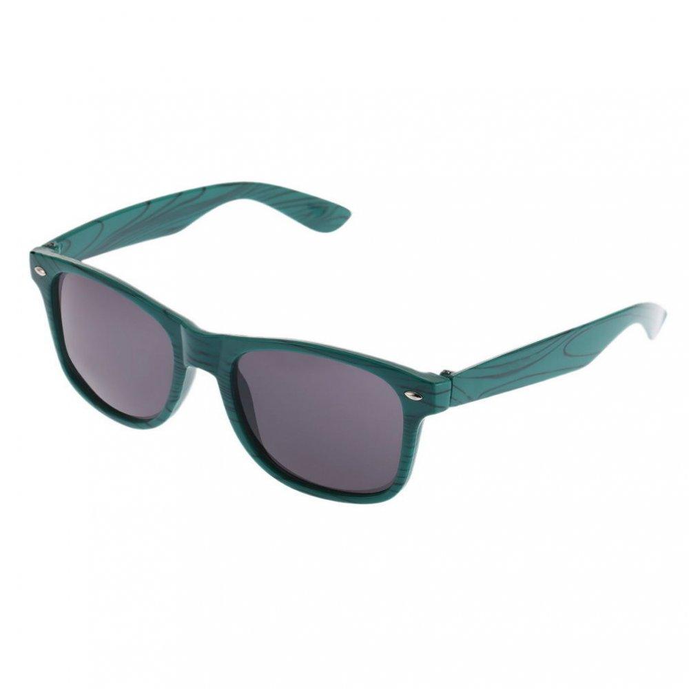 Слънчеви очила с маслено зелени рамки на линии