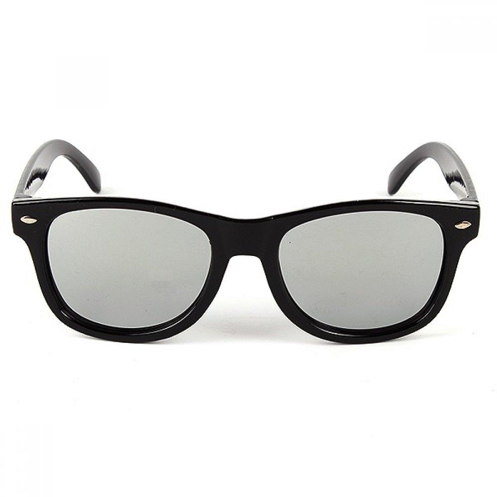 Слънчеви очила за деца огледални сребърни