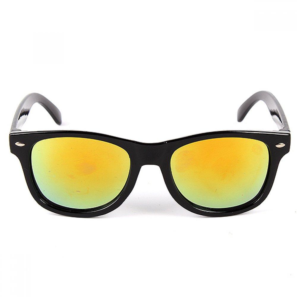 Слънчеви очила за деца огледални жълти