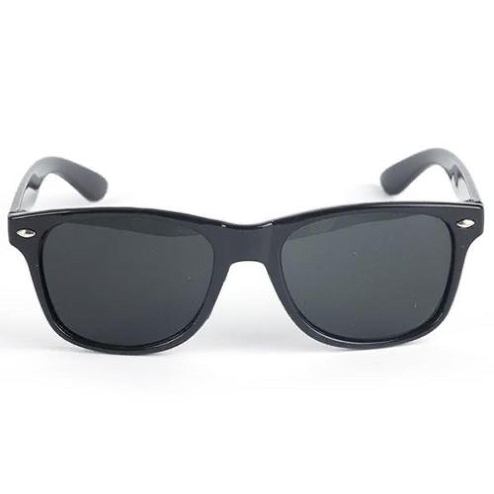 Слънчеви очила за деца с черна рамка