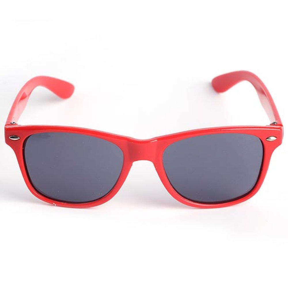Слънчеви очила за деца с червени рамки