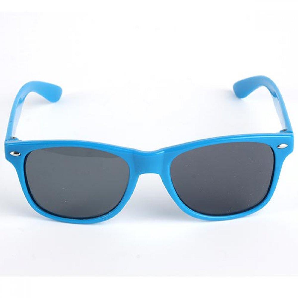 Слънчеви очила за деца със сини рамки