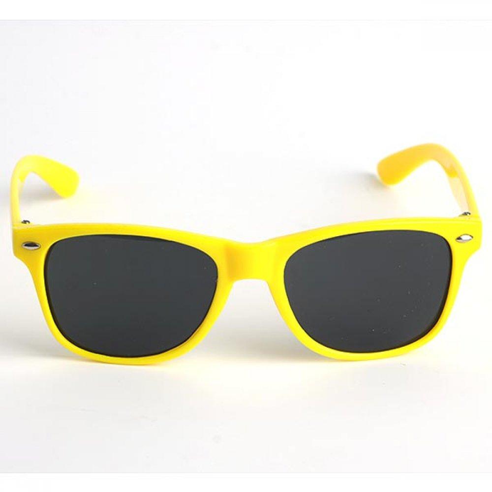 Слънчеви очила за деца със жълти рамки