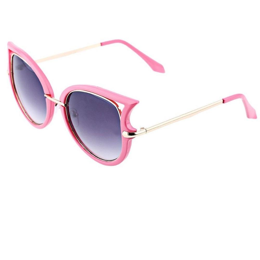 Слънчеви розови котешки очила