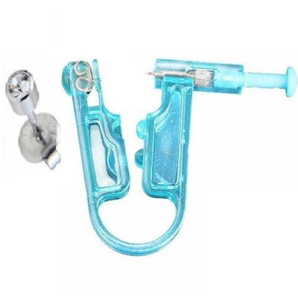 Стерилна обеца за ухо с пистолет за еднократна употреба