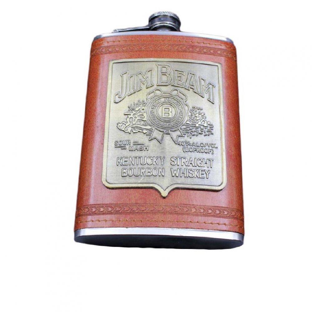 Стоманена бутилка за уиски