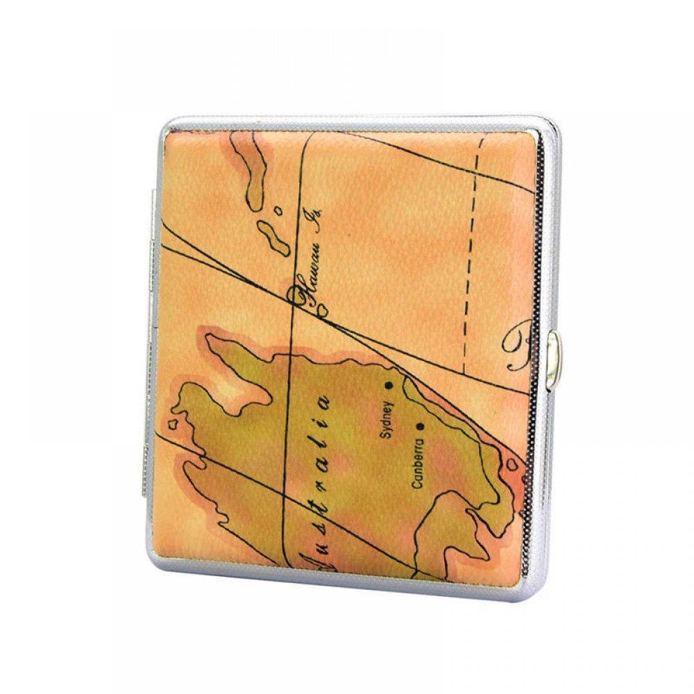 Табакера с карта на Океания