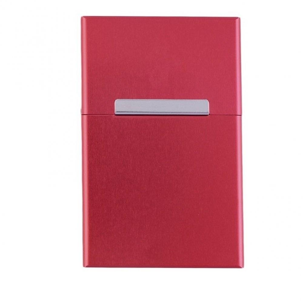 Табакера в червено за цяла кутия цигари