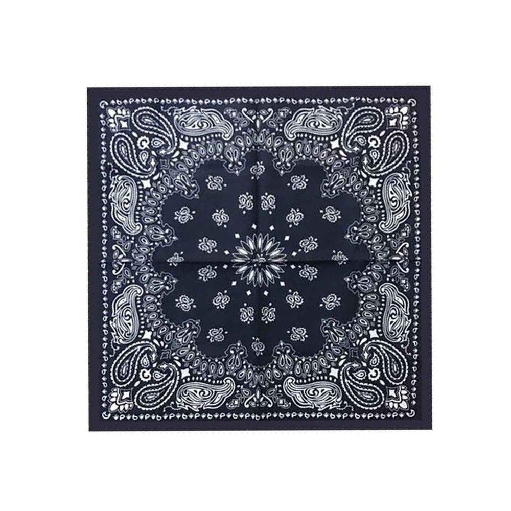 Тъмно синя кърпа с  орнаменти