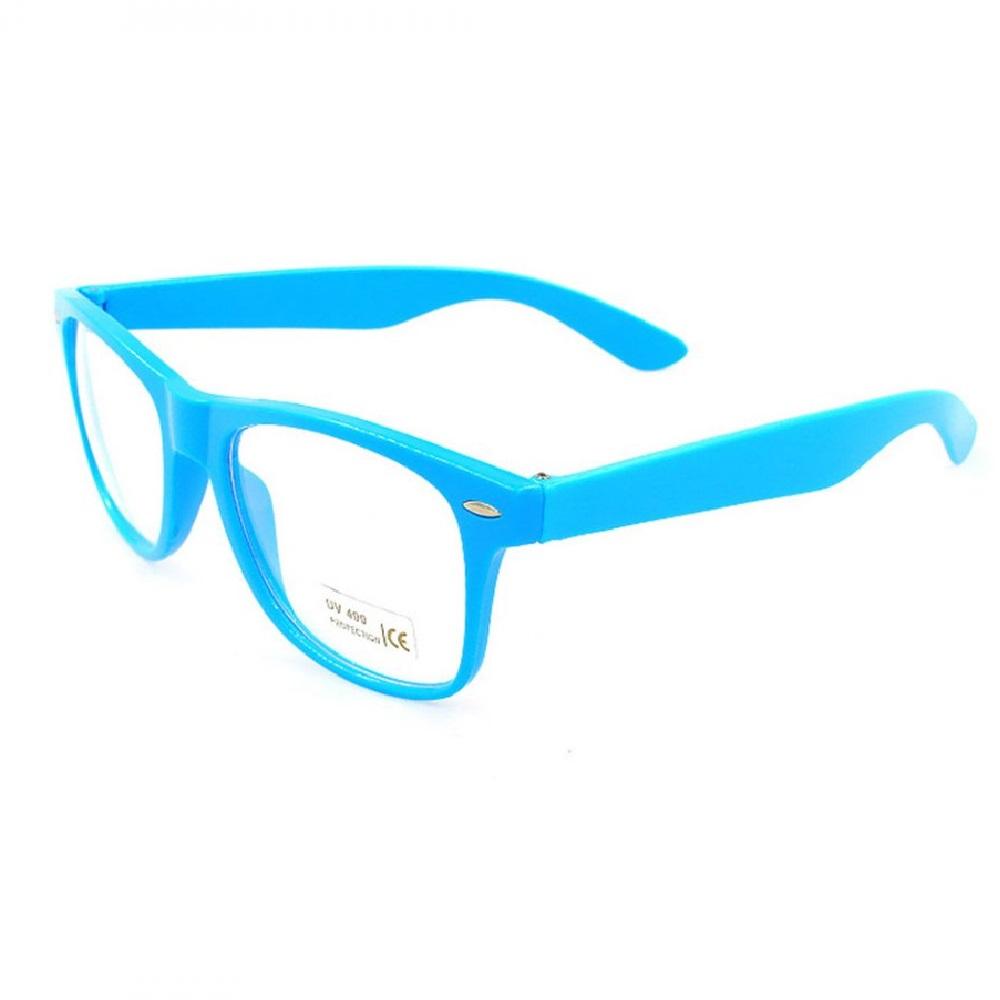 Тюркоазени очила без диоптър