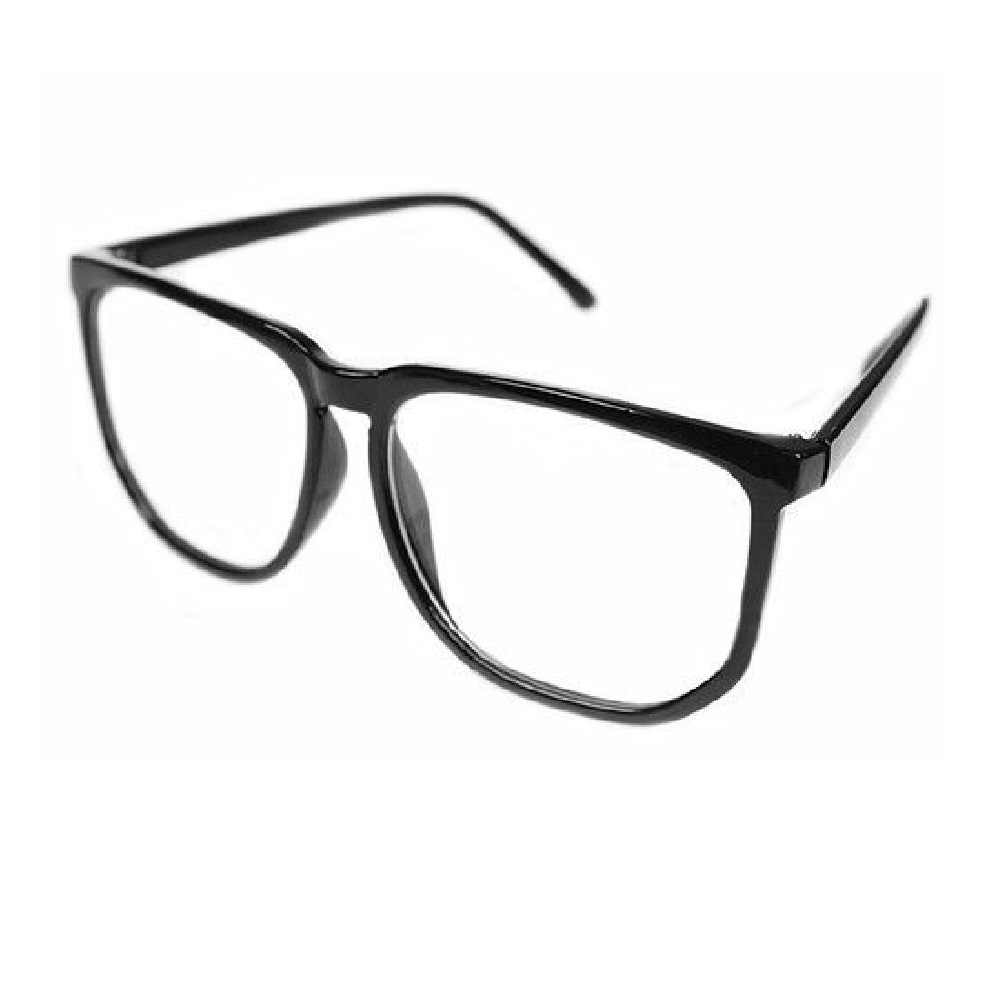 Унисекс очила прозрачни стъкла не чуплива рамка