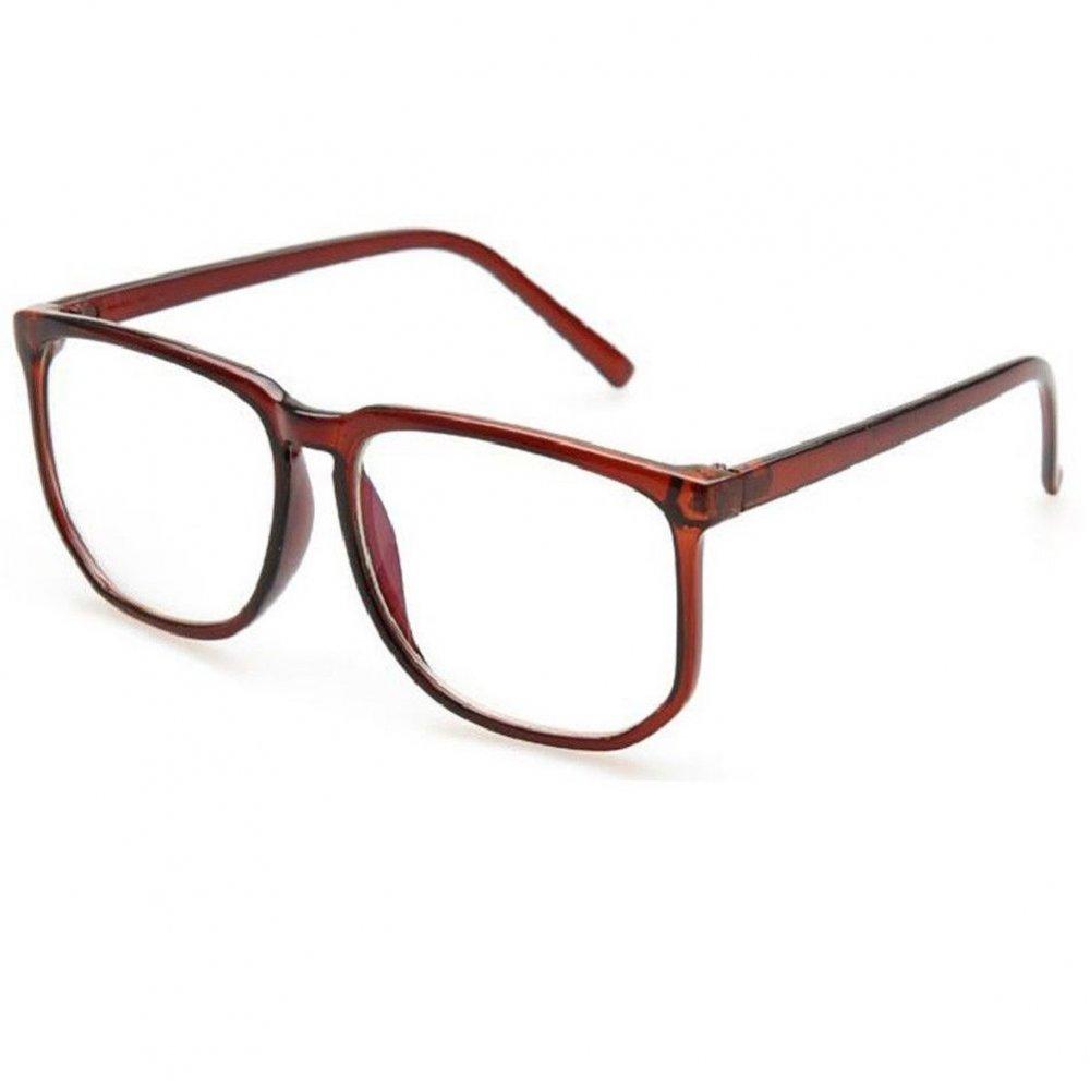 Унисекс очила с големи стъкла не чуплива рамка