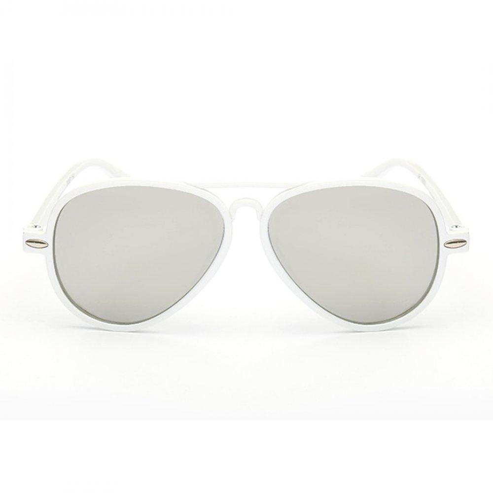 Универсални слънчеви бели детски очила