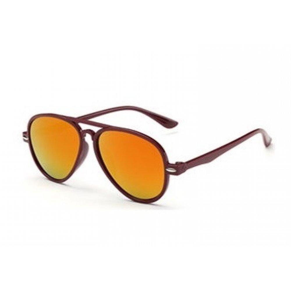Универсални слънчеви детски очила с червеникави стъкла