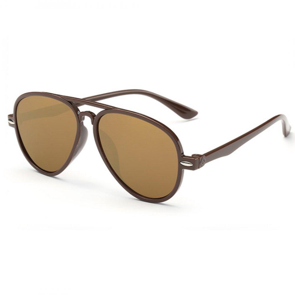 Универсални слънчеви кафяви детски очила
